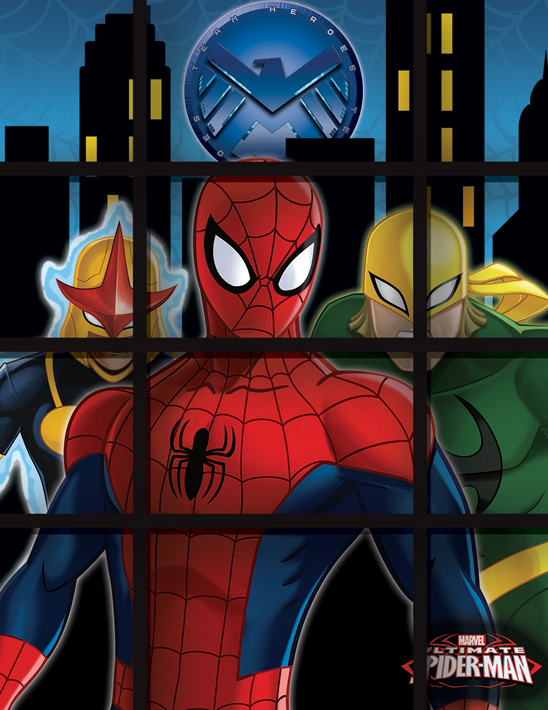 Marvel Spiderman imagery for CPG