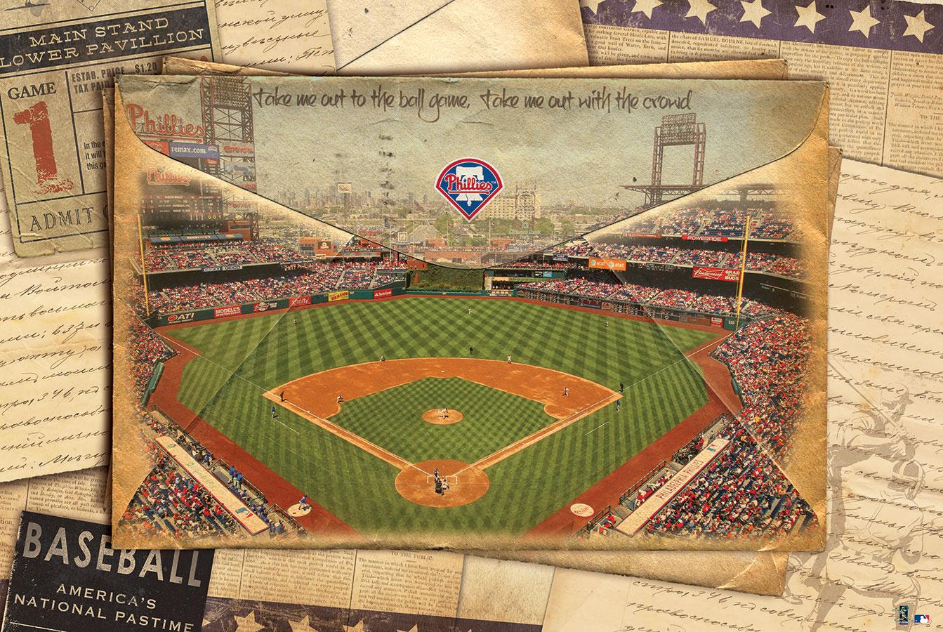 MLB licensed art on canvas
