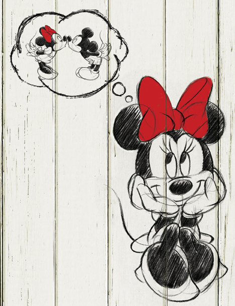 Disney Minnie imagery for CPG
