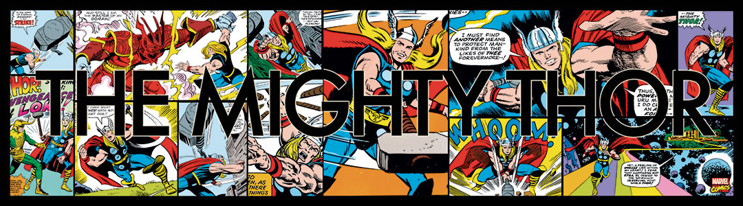Marvel Thor imagery for CPG