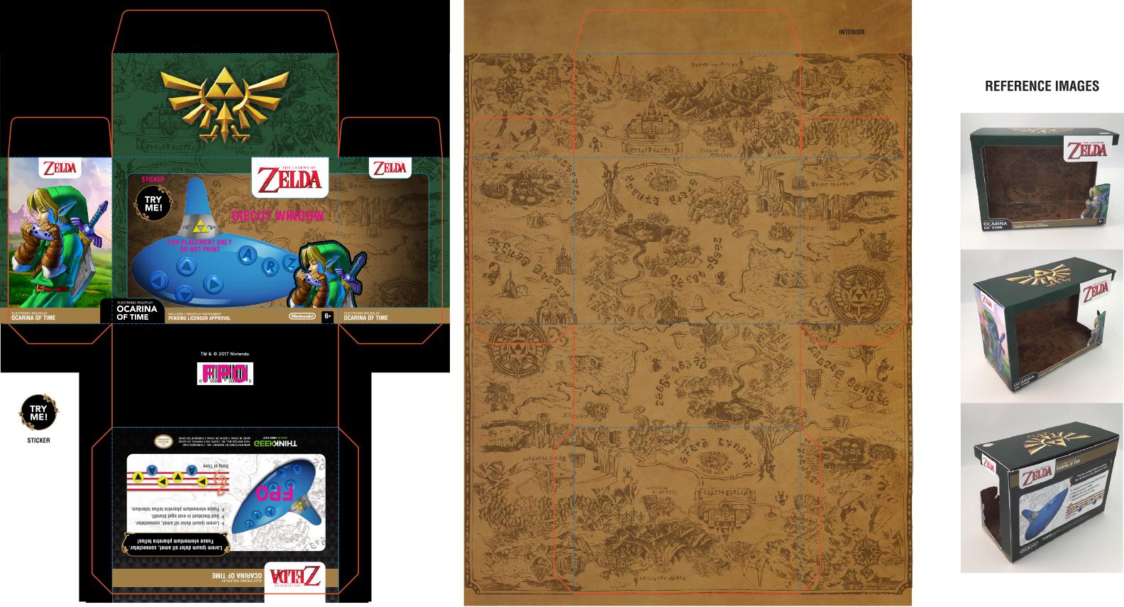 Zelda Electronic Ocarina
