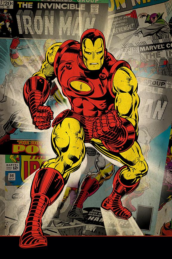 Iron Man Marvel Key Art for CPG