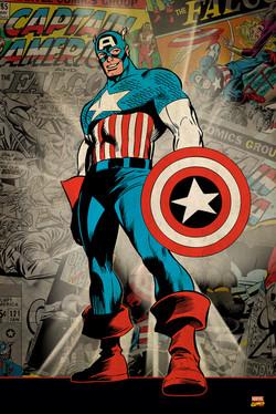Marvel Captain America  Key Art