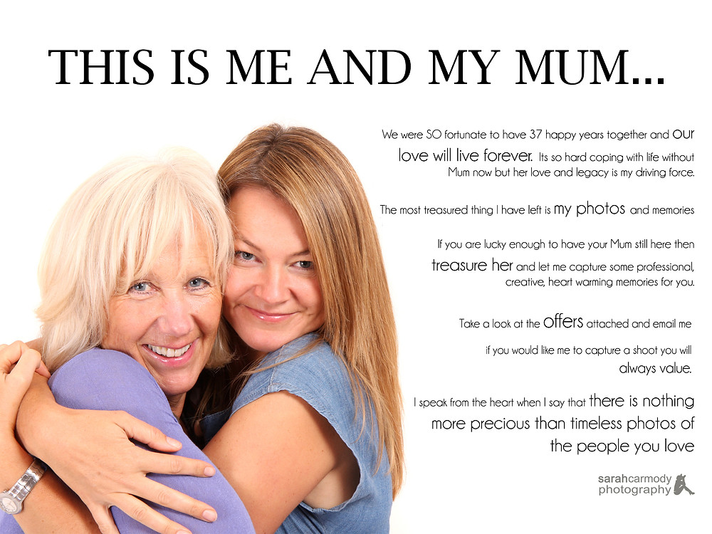 Take a look at these packages I am offering as a Mothers Day offer...