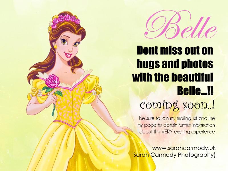 Belle photoshoots