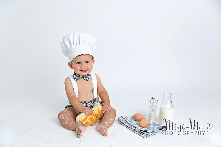 Baby Chef Mini Me Photography