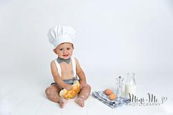 Baby Chef Mini Me Photography