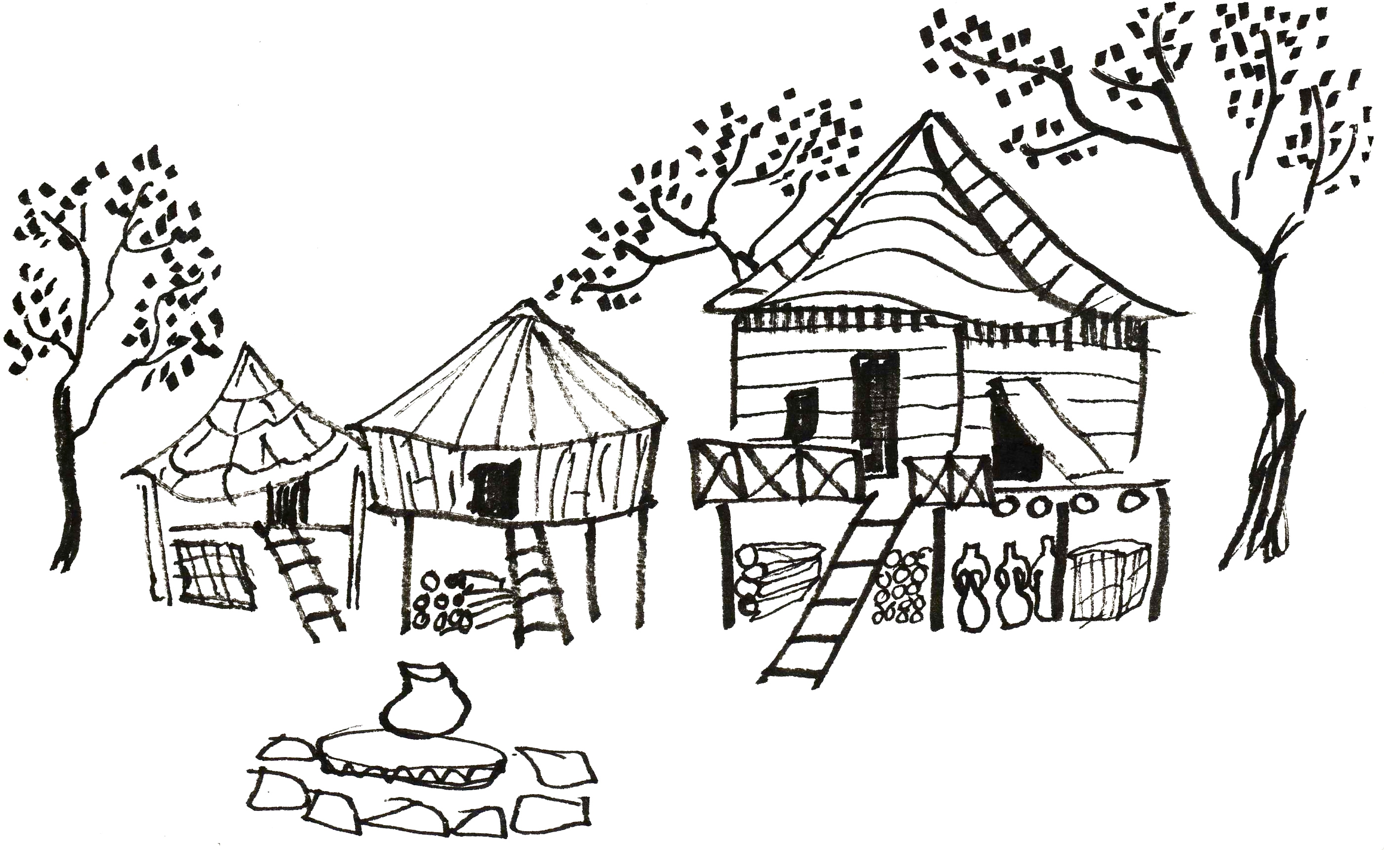 Kehyo's drawing of Ilnai