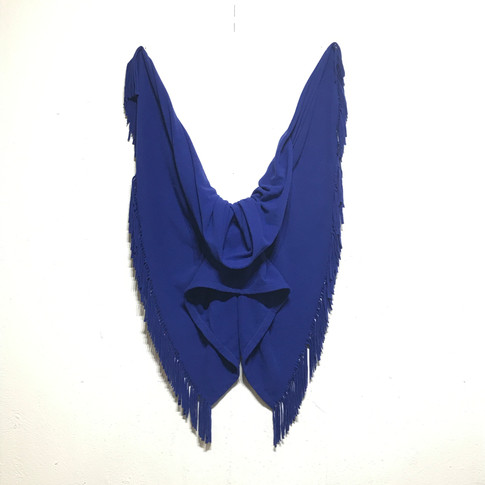 Deep Blues Drape (Series)