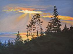 Copper Harbor Sunset #2