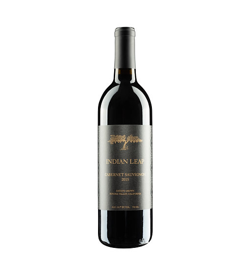 Single bottle of 2015 Cabernet Sauvignon
