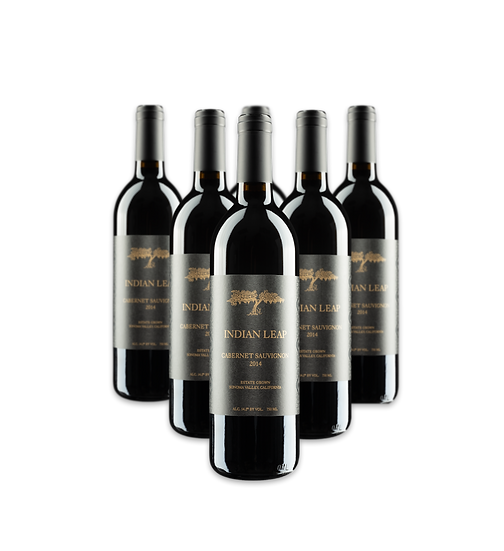 Six bottles of 2014 Cabernet Sauvignon