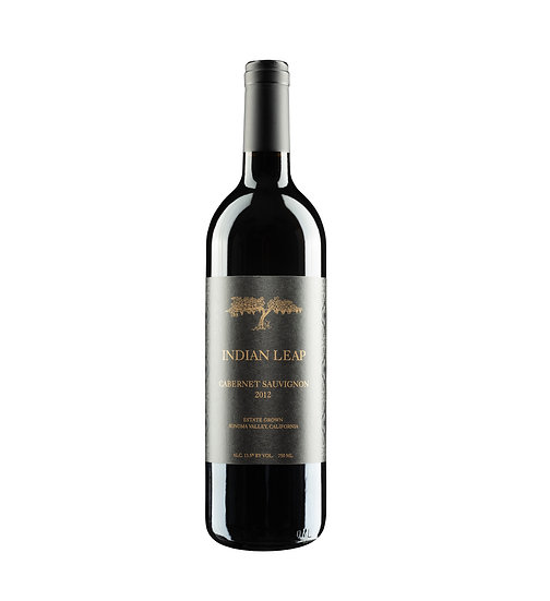 Single bottle of 2012 Cabernet Sauvignon