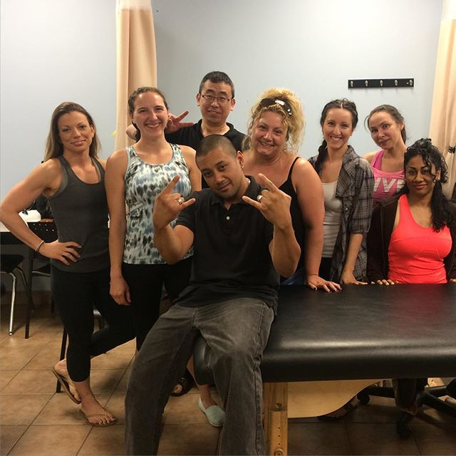 Great weekend with these awesome #RMTs at our Athletic Taping Workshop. _Be bold in your pursuit of education..._ConEdInstitute