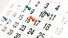 Course Calendar and COVID-19 Update
