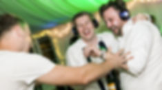Silent Disco party headphone hire & DJ Packages. Silent disco DJ booking for party.