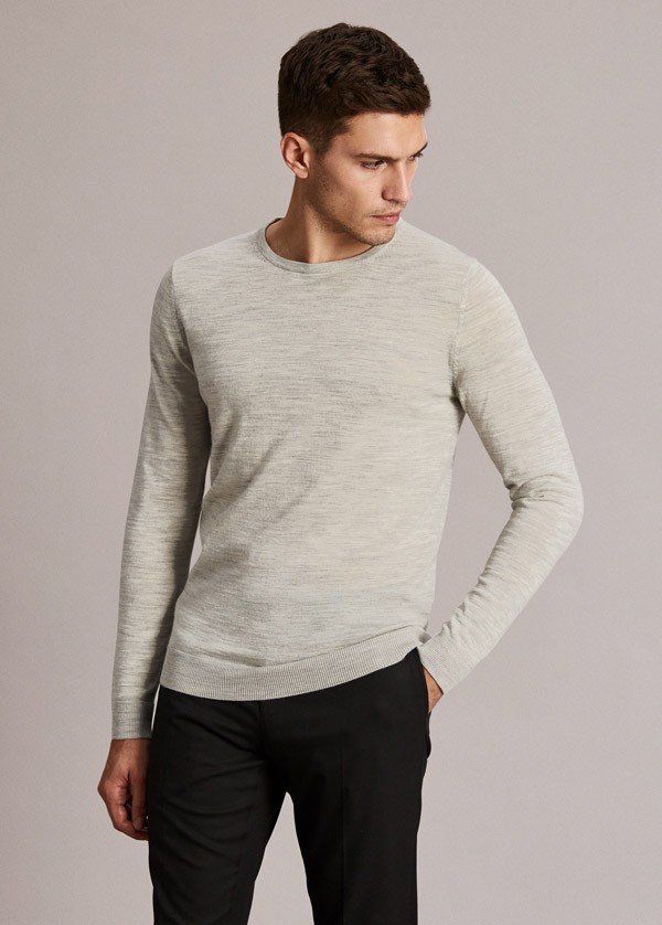 Crew Neck Pullover SELECTED