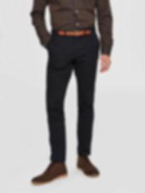 Schwarze SELECTED Herren Chino von aschenbrenner fashion Kirchheim