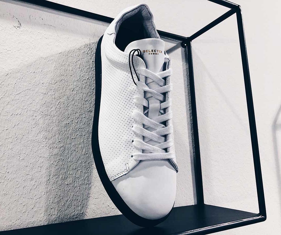 Sneaker von SELECTED in schwarz-weiss