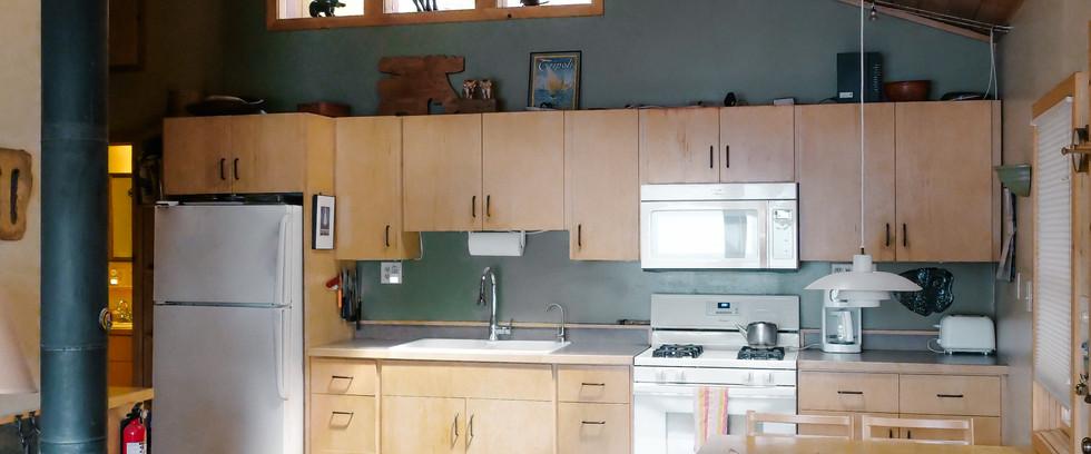 Kitchen at Getaway Shores