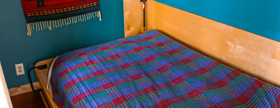 Bedroom 2 - Full Sized Murphy Bed