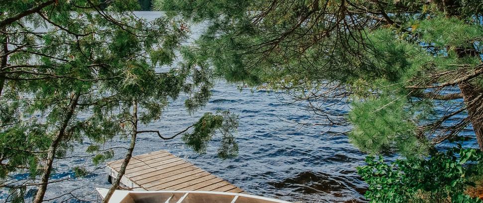 Rowboat and Canoe