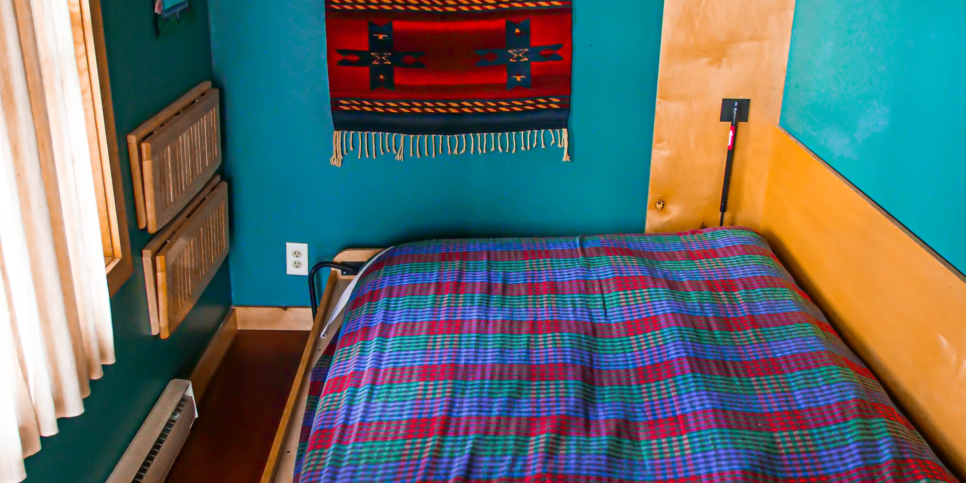 Bedroom 2 - Full Sized Murphy Bed