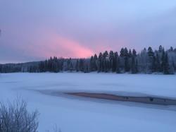 20 View - winter sunset