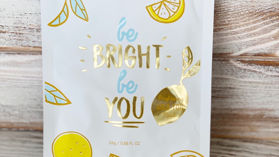 Be Bright  Be You Mask