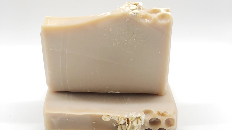 Artisanal Organic Honey  Oatmeal Soap