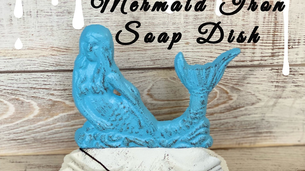 Mermaid Iron Soap Dish