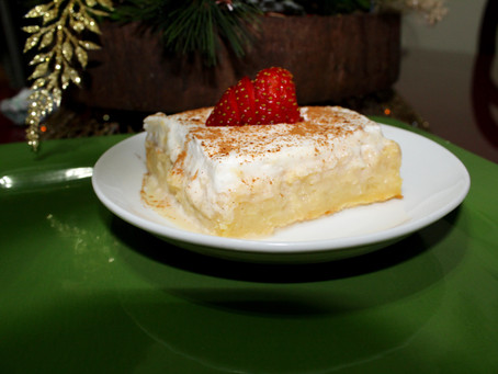 Tres Leches Coffee Cake