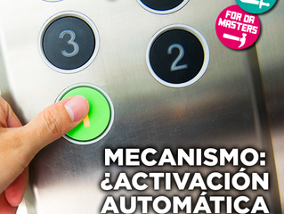 Mecanismo: ¿activación automática o manual?