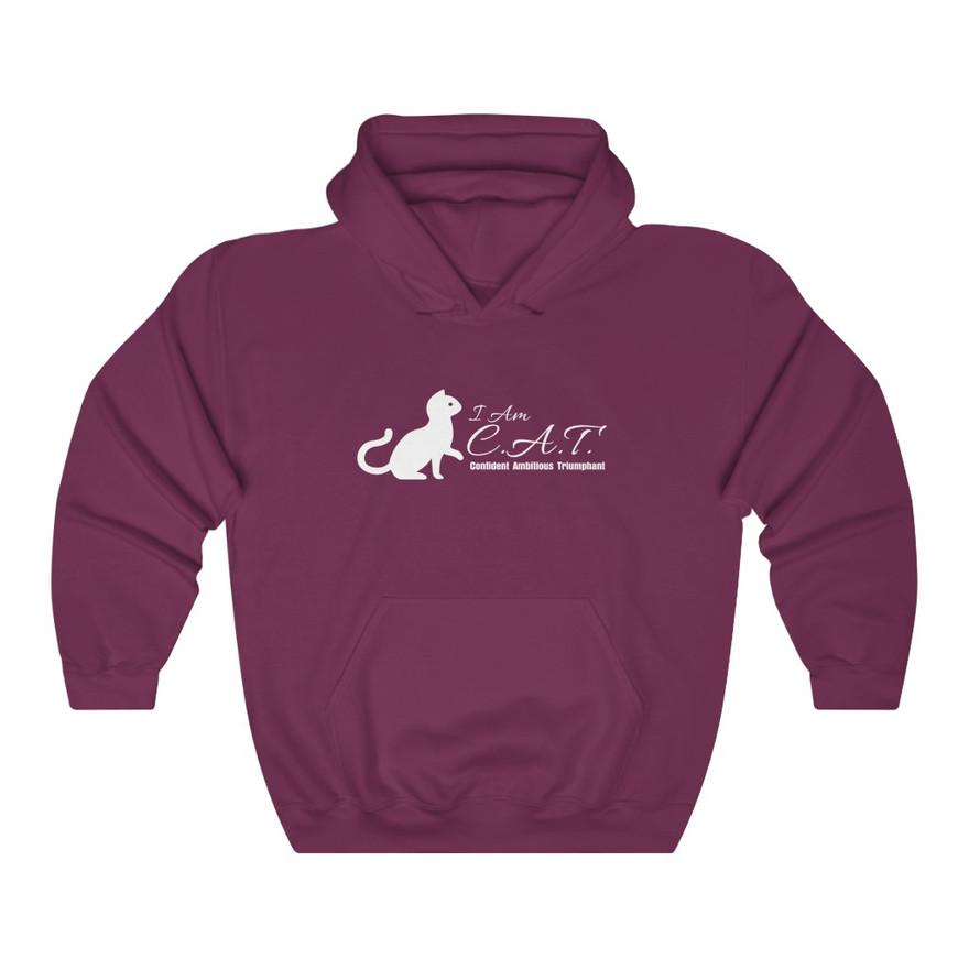 Pretty in hoodie-Heavy blend hooded sweatshirt