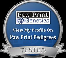 Paw Print Genetics Pedigrees