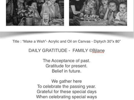 Daily Gratitude- Celebrating Life