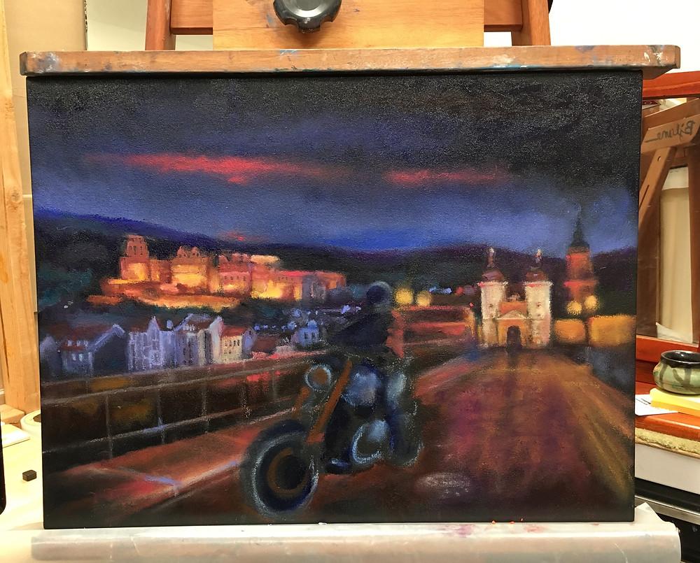 The Knight of Heidelberg progress by Bjlane