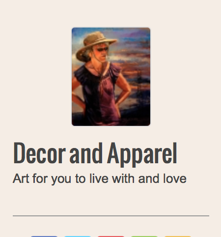 Decor & Apparel - Art for you to live with and love