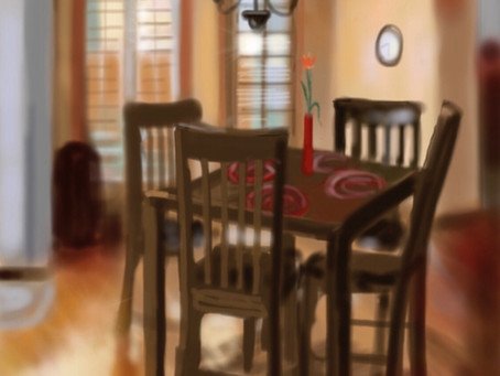 Daily Gratitude -the dinner table