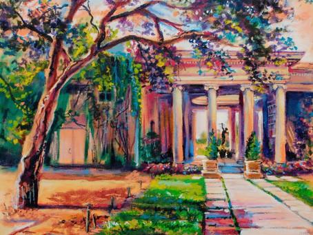 #dailygratitude -  gardens of history