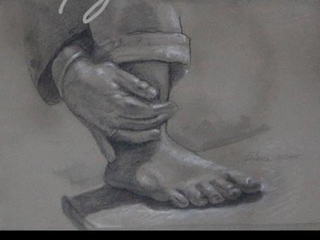 Daily Gratitude - my feet