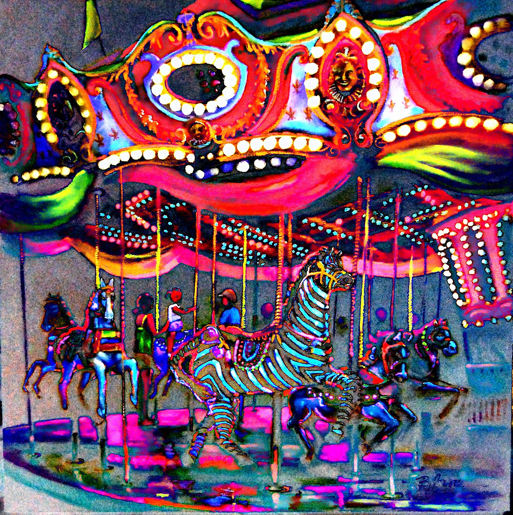 #L.A. County Fair Paintings © Bjlane