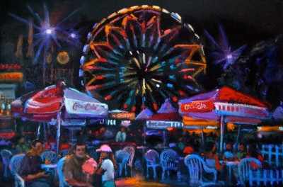 #L.A. County Fair Paintings ©2010 Bjlane