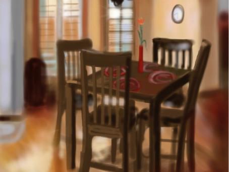 #dailygratitude - the dinner table