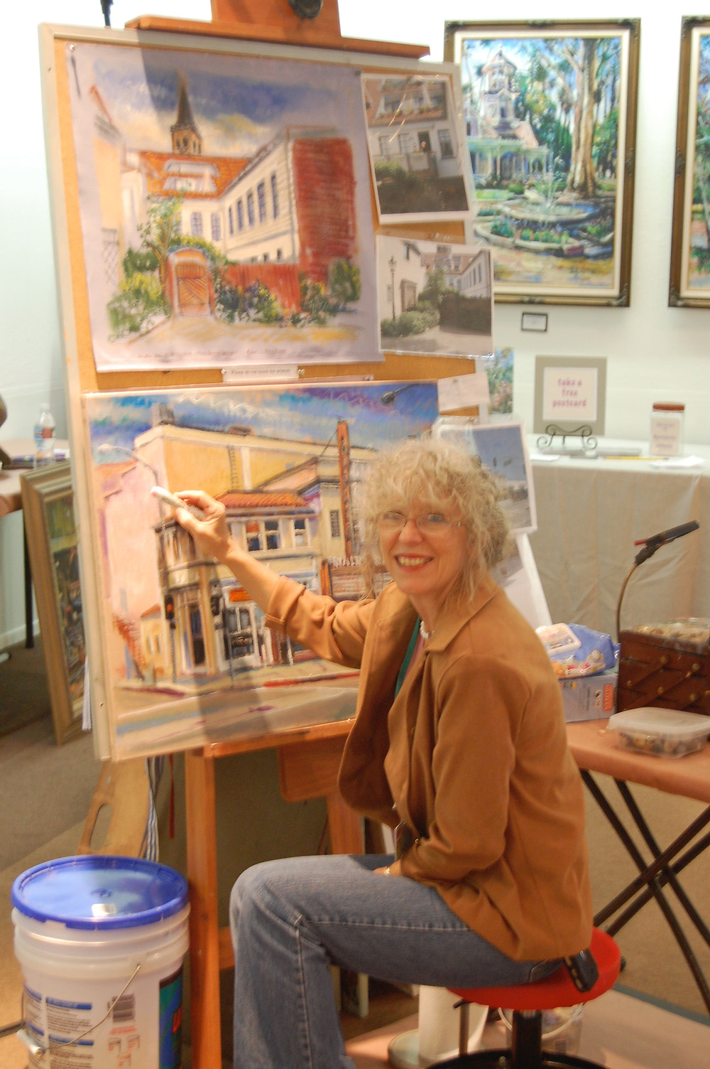 L.A. County Fair Paintings ©2008 Bjlane