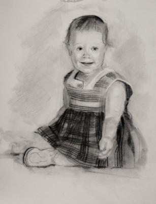 Self portrait of the artist-Bjlane