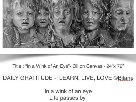 #dailygratitude - Learn. Live. Love