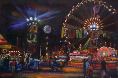 L.A. County Fair Paintings ©2010 Bjlane