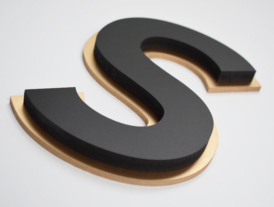 Letra Caixa PVC Expandido   Fórmula Comunicação Visual