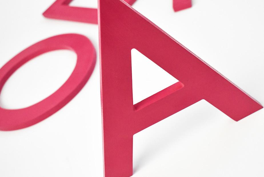 Letra Caixa PVC Expandido | Fórmula Comunicação Visual